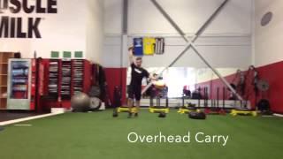 無駄なく動けるように!重たい物を利用したウォークトレーニング