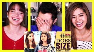 Video GIRLIYAPA'S LADIES ROOM: DOES SIZE MATTER? | Reaction! MP3, 3GP, MP4, WEBM, AVI, FLV Maret 2019