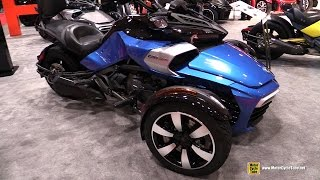 8. 2017 Can Am Spyder F3 S - Walkaround - 2017 Toronto Motorcycle Show