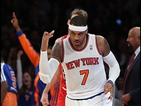 Video: Carmelo Anthony Lights Up the Bulls