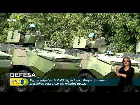 Representantes da ONU inspecionam Forças Armadas brasileiras