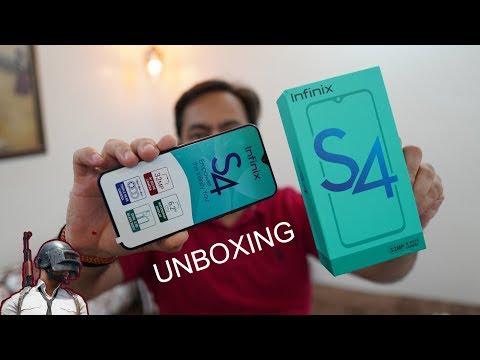 Infinix S4 Unboxing And First Impression, PUBG GamePlay, The 32MP Selfie Camera Phone For Rs. 8999