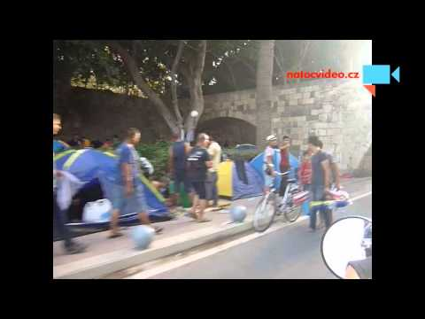 Uprchlíci na ostrově Kos- Greece