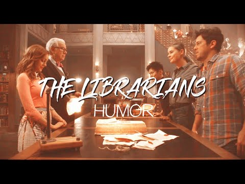 The Librarians || Handclap (HUMOR)