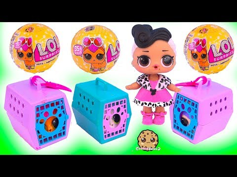 LOL Surprise Pets Adoption - Mystery Blind Bag Toys Video