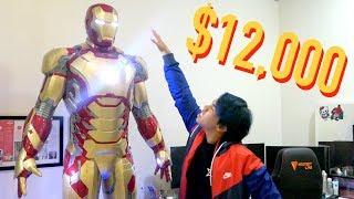 Video MY $12,000 LIFE-SIZED IRON MAN SUIT MP3, 3GP, MP4, WEBM, AVI, FLV Mei 2018
