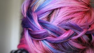 My Little Pony (Ombre Cotton Candy Hair) Tutorial 20% Off - YouTube