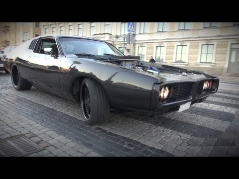 800 HP Dodge Charger 605 cid / 9.9 L – The most bad-ass American muscle car ever?!