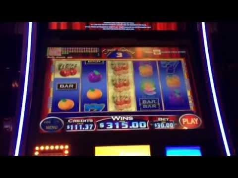 $30 Cherries Gone Wild Slot Machine Bonus Win High Limit Max Bet