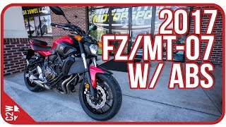 1. 2017 Yamaha FZ-07 with ABS (MT-07) | First Ride