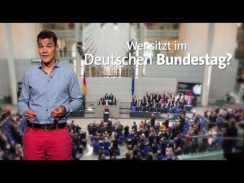 Wer sitzt im Deutschen Bundestag?