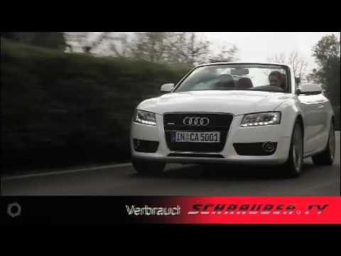 Audi S5 Cabriolet -    Das Audi S5 Cabriolet beschleunigt in 5,6 Sekunden auf 100km/h und hat dabei noch Reserven. Die Verbindung von quattro® mit...