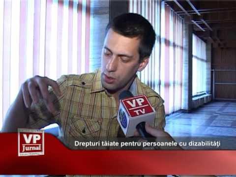 Drepturi tăiate pentru persoanele cu dizabilităţi