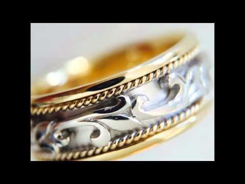 Top 10 Celtic Knot Rings, Wedding Ring, Men's Women 14K Gold Bands, Scottish Ring by Rings Paradise