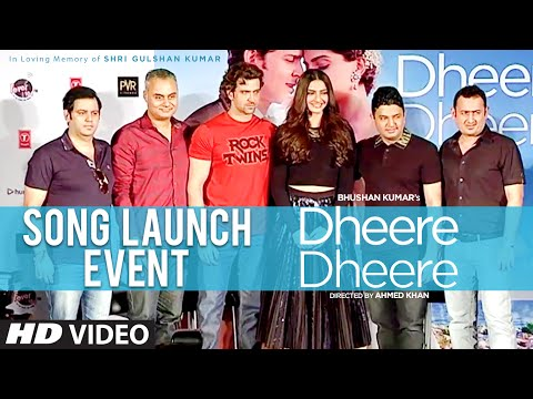 'Dheere Dheere' Song Launch Event | Hrithik Roshan