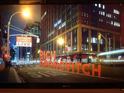 Rich Aronovitch on Gotham Comedy Live on AXS