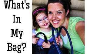 What's In My Bag? - Mommy/Daughter Tag