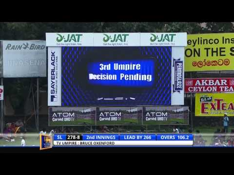 2nd ODI, Sri Lanka in Bangladesh, 2014 - Highlights