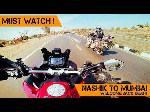 Download ONE WORLD ONE RIDE Ends | Nashik to MUMBAI with DEBU |  DUCATI MULTISTRADA | Part 1 - The RIDE HD Mp4 3GP Video and MP3