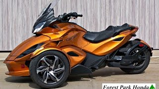 8. SOLD! 2014 Can-Am Spyder ST-S SM5 1603 Miles!