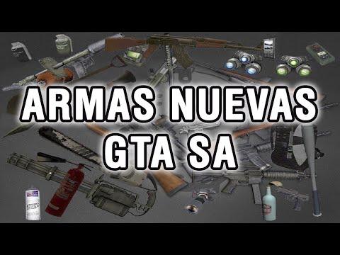Tutorial para instalar nuevas armas en GTA San Andreas (PC) por vigilantes15