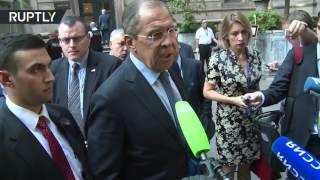 Лавров: Нельзя позволить террористам воспользоваться несоблюдением перемирия в Сирии