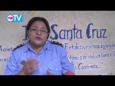 Policía Nacional realiza encuentro con pobladores de la Comunidad Santa Cruz en Estelí