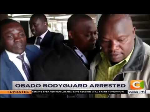 Obado's bodyguard arrested over fakery #CitizenBriefs