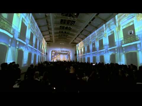 3D Projection Mapping - Re-opening of the Vienna Sofiensaal | By Christie
