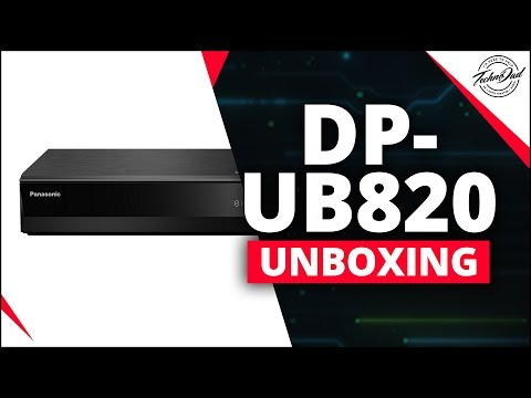 Panasonic DP-UB820 Unboxing & Dolby Vision Update!!