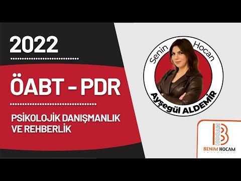 1) ÖABT PDR - Meslek Etiği ve Yasal Konular I - Ayşegül ALDEMİR - 2022
