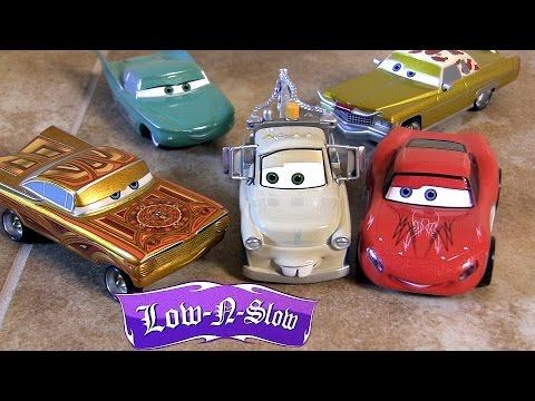 set - Welcome to Blucollection Toycollector. From Disneystore.com and Disney Stores, this is DisneyPixar Cars Deluxe Low Rider Die-Cast Set with 5 vehicles. Set includes: Lightning McQueen, Tow Mater,...