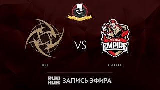 NiP vs Empire, Mr.Cat Invitational, game 2 [Tekcac, 4ce]