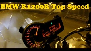 5. BMW R1200R 0-200 Km/h acceleration and Top Speed