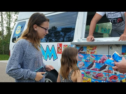 Ice Cream Man Delivery!!!! ~ Weekend Vlog