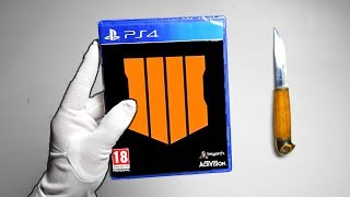 Call of Duty Black Ops 4 Unboxing (Leaked Japanese Copy)