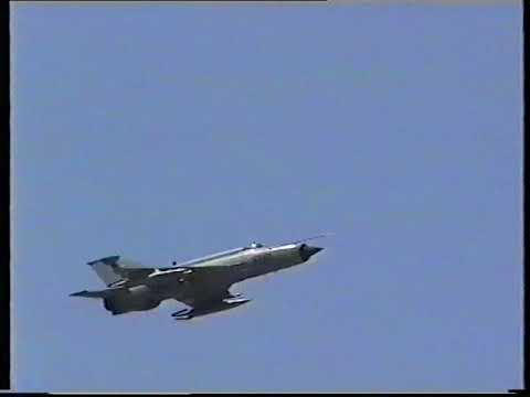 Aero L-39 Albatros and MiG-21MF,...