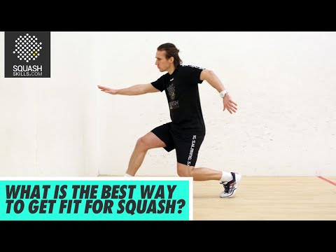 Squash Tips: What Is The Best Way To Get Fit For Squash?   Health and Fitness Q&A with Gary Nisbet