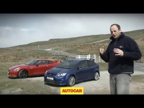 Ford Focus RS vs Nissan GT-R - Autocar.co.uk