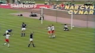 Andrzej Szarmach trifft gegen Italien (WM 1974)