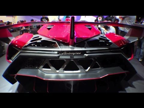 Lamborghini Veneno Roadster with $100,000 stereo by Monster