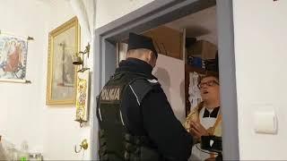 Brutalna interwencja policji nasłanej przez kisęży.