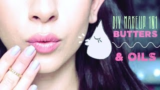 DIY Makeup 101 ♥ Butters and Oils - YouTube