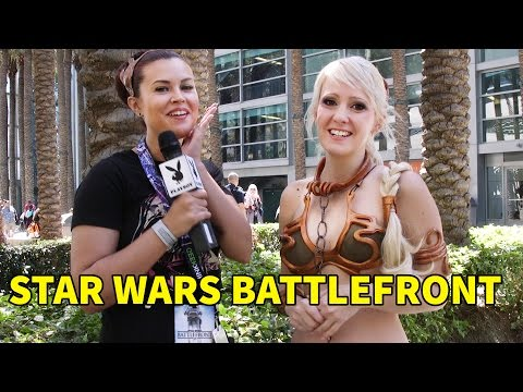 Gamer Next Door: First Look at Star Wars Battlefront With Amelia Talon