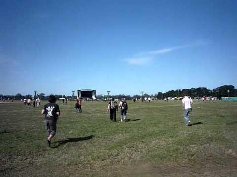 Entrada al Hipodromo de Tandil 2010