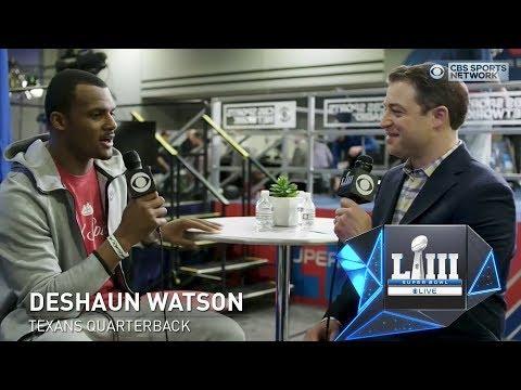 Video: Deshaun Watson talks Clemson | Super Bowl Live