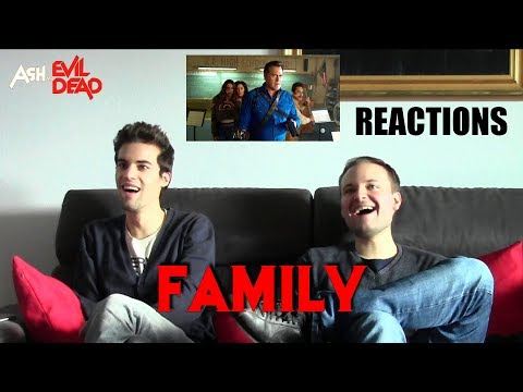 "Ash Vs EVIL DEAD 3x01 ""Family"" REACTIONS"