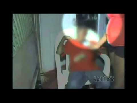 un ragazzino subisce l'attacco di uno spirito!!!