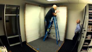 Vocal Booth Strike and Rebuild Time-lapse