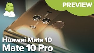 Video Huawei Mate 10 + Mate 10 Pro hands-on preview MP3, 3GP, MP4, WEBM, AVI, FLV Januari 2019